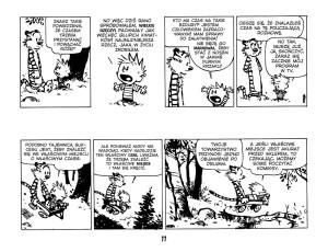Calvin i Hobbes fragment