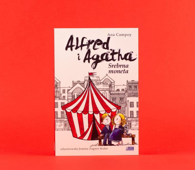 Alfred i Agatha. Srebrna moneta - Ana Campoy