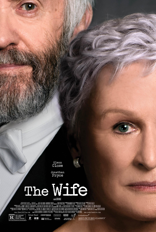 Żona -The Wife - Oficjalny plakat