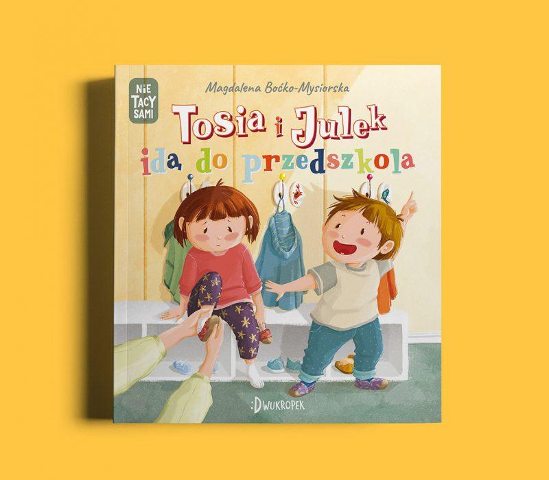 Tosia i Julek w przedszkolu