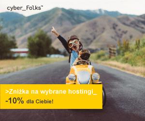 Promocja! Hosting twojej strony internetowej -10%